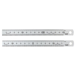 Toledo 150mm Metric Stainless Steel Rule - Double Sided - 150SP