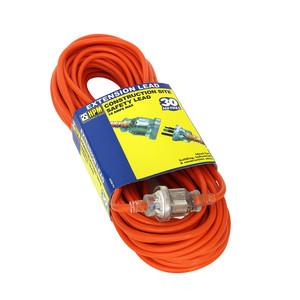 HPM 30m Extra Heavy Duty Tradesman Extension Lead 10A 2400W Orange 3 core 1.5mm² - R2930