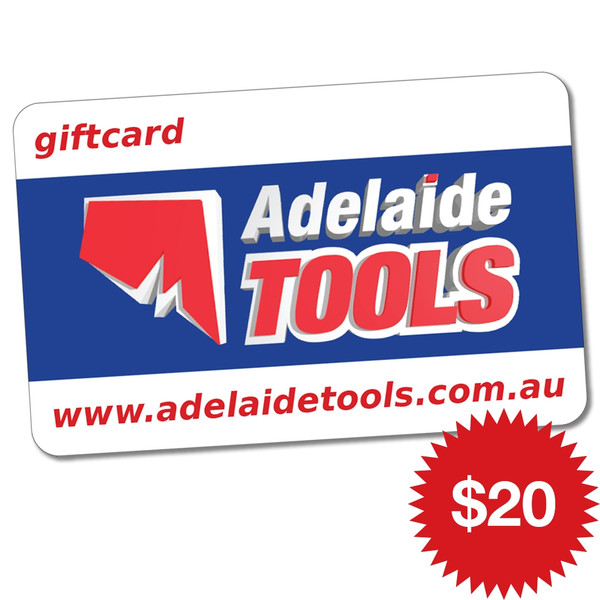 Adelaide Tools Gift Card - $20