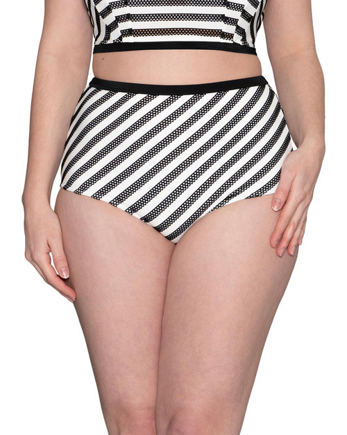Sunseeker Monochrome High Waist Brief