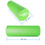 FOAM ROLLER - EVA - Superb Muscle Roller - Trigger Point - 15cm * 45cm - Perfect for Gym, Pilates, Yoga - FREE Quick Start Guide - Lifetime Warranty - (Green)
