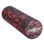 FOAM ROLLER - EVA - Superb Muscle Roller - Trigger Point - 15cm * 45cm - Perfect for Gym, Pilates, Yoga - FREE Quick Start Guide - Lifetime Warranty. (Red/Black)