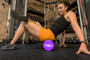 """Maximo Fitness - EVA Foam Roller – Extra Long – 6"""" x 36"""" (15 cm x 90 cm) – Trigger Point – Perfect Self Massage tool for Home, Gym, Pilates, Yoga – Instructions Included. (Purple - 90 cm)"""