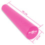 "Maximo Fitness - EVA Foam Roller – Extra Long – 6"" x 36"" (15 cm x 90 cm) – Trigger Point – Perfect Self Massage tool for Home, Gym, Pilates, Yoga – Instructions Included. (Pink - 90 cm)"