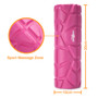 Mini Foam Roller – Perfect Massage Roller for Travel, Gym, Home, Pilates, Yoga – Trigger Point – Myfoscial Release – 10 cm * 30 cm – Lifetime Guarantee. (Pink)