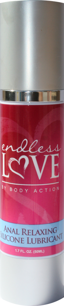 Endless Love Anal Relaxing Silicone Lubricant - 1.7 Oz.