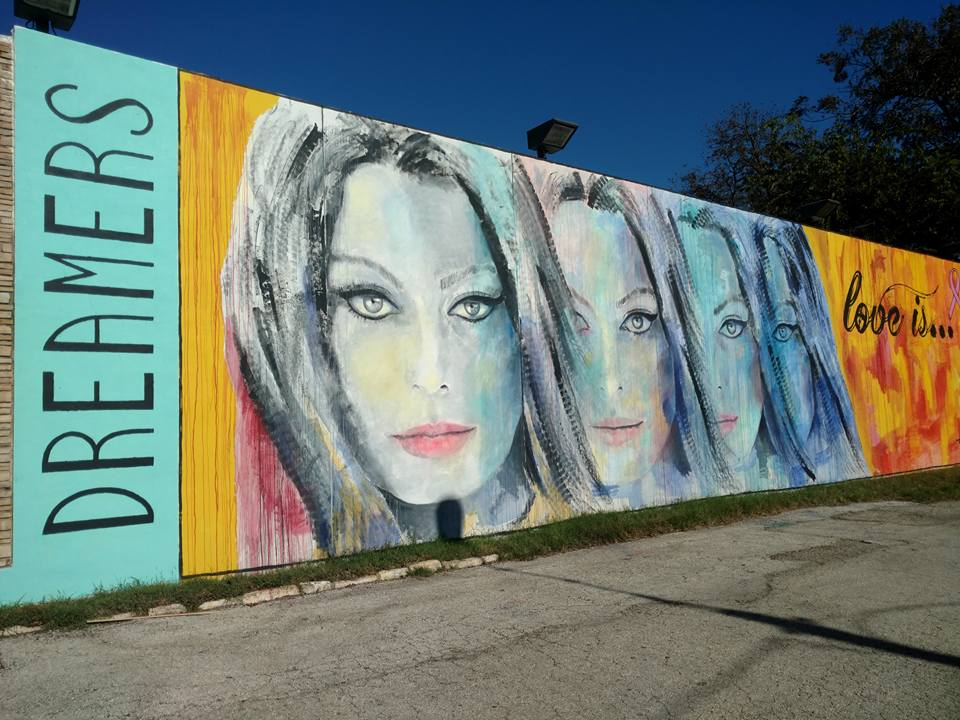 Dreamers Mural