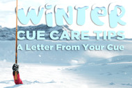 Re: Pool Cue Winter Care