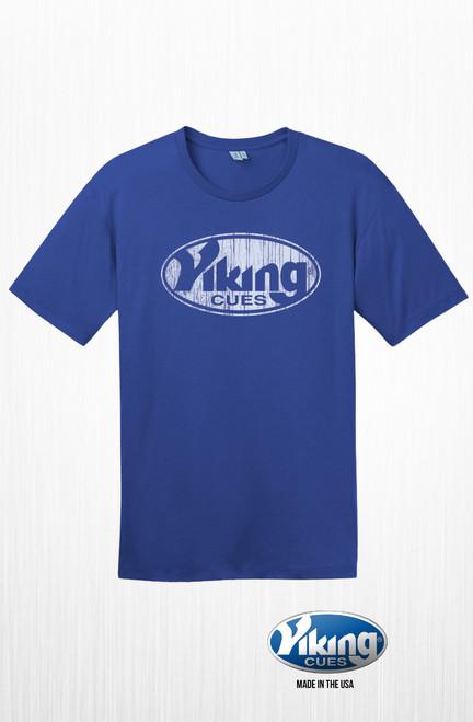 Deep Royal Blue Viking Unisex T-Shirt