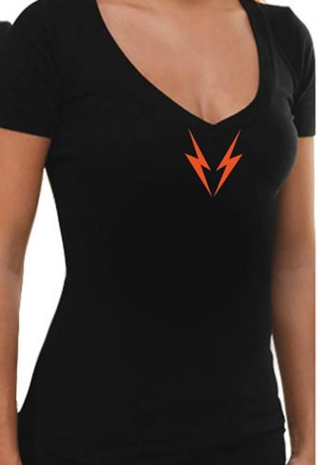 Deep V Womens Valhalla T-Shirt