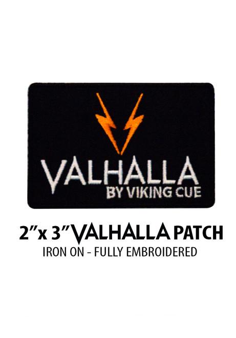 "2"" x 3"" Valhalla Iron-On Patch"