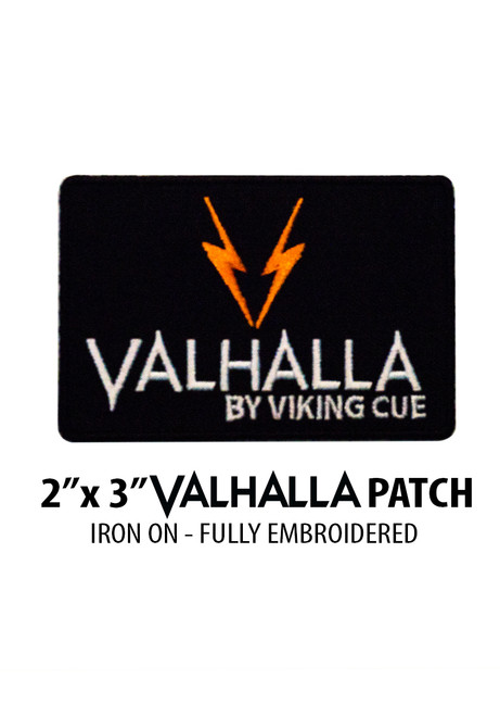 "2"" x 3"" Valhalla Iron-On Patch"