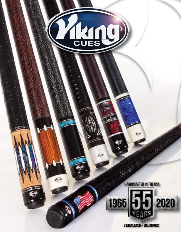 Best Pool Cues 2020 Viking Cue 2020 Catalog   FREE with Any Cue Purchase   vikingcue.com
