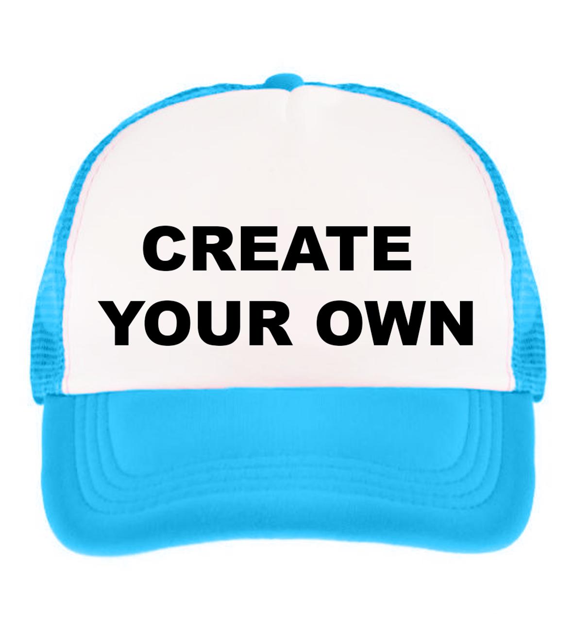 Custom Printed Trucker Hat - Girleo fff58d75800