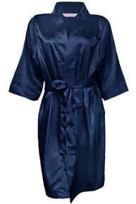 Girl ExtraOrdinaire Wholesale Plain Bridesmaid Satin Robe