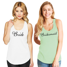 Bridal Party Racerback Tank Top