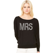 Ultimate Bling Mrs Slouchy French Terry Shirt