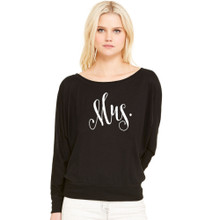 Mrs. Slouchy French Terry Shirt