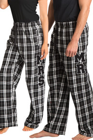 Mr and Mrs Flannel Pajamas Pants