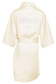 Wholesale Off white Bride robe