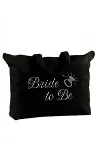 Rhinestone Wedding Tote Bag for the Bridal Party