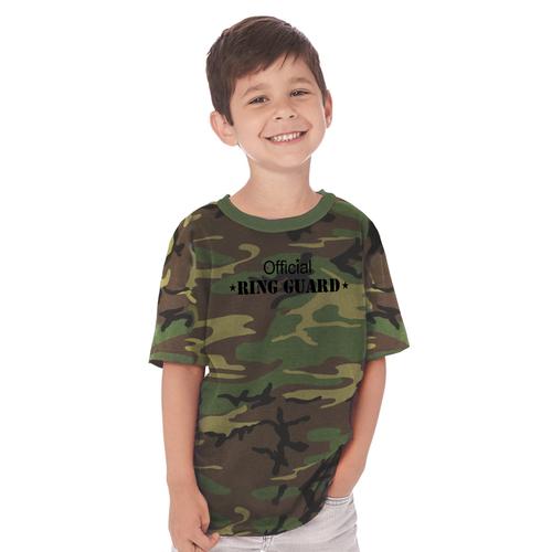 Official Ring Guard Ring Bearer T-Shirt in Camo