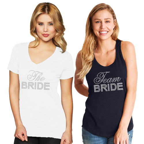 Big Bling Bridal Party Tank or Tee