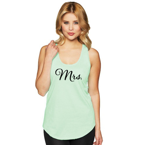 Mrs. Racerback Tank Top