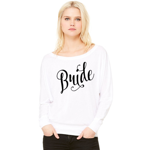 Bride Slouchy French Terry Shirt