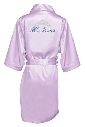 Rhinestone Mis Quince Robe