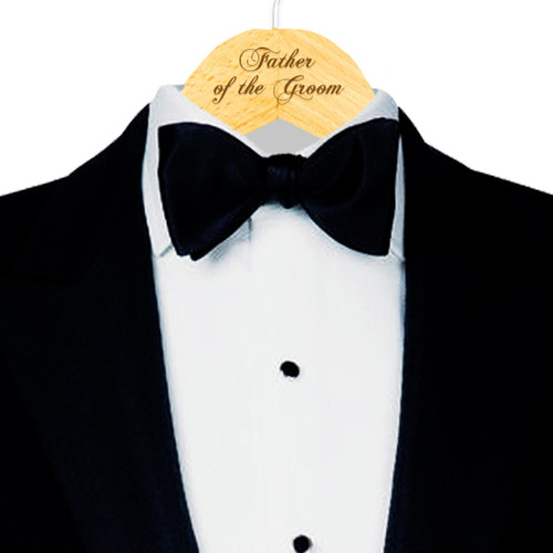 Engraved Father of the Groom Hanger