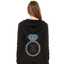 Personalized Bride Hoodie with Dazzling Diamond Ring