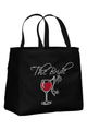 Wine Design Bride and Bridesmaid Tote Bags - For the Entire Bridal Party!