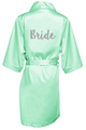 Glitter Print Bride and Bride's Squad Robes