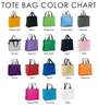 Tote Bag Color Chart