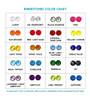 Rhinestone Color Chart for Ribbon