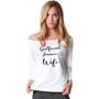 Girlfriend Fiancee Wife Upgrade Slouchy Shirt
