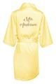 Personalized Glitter Print Satin Robes