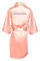 Rhinestone Quinceanera Robe