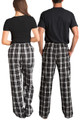 Hubby and Wifey Flannel Pajama Pants Set