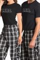 mr and mrs pajama set
