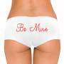 Be Mine Rhinestone Boyshort - Many Font Styles Available!