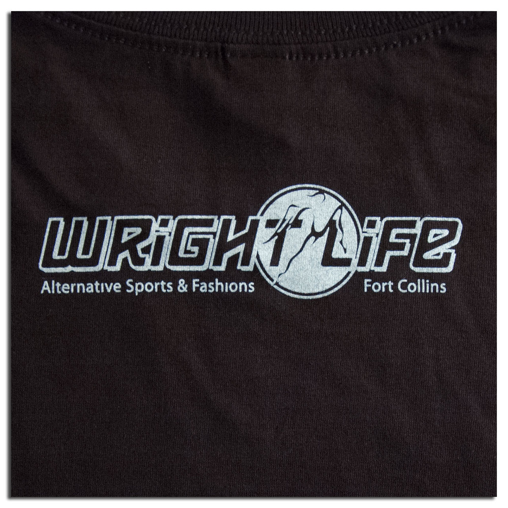TWL T-SHIRT - EVOLUTION OF ULTIMATE FRISBEE T-SHIRT DESIGN, cropped back view