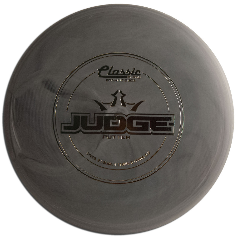 DYNAMIC CLASSIC BLEND JUDGE DISC GOLF PUTT AND APPROACH, gray