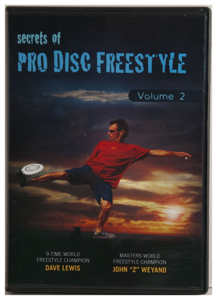 FPA SECRETS OF PRO DISC FREESTYLE DVD - VOLUME 2