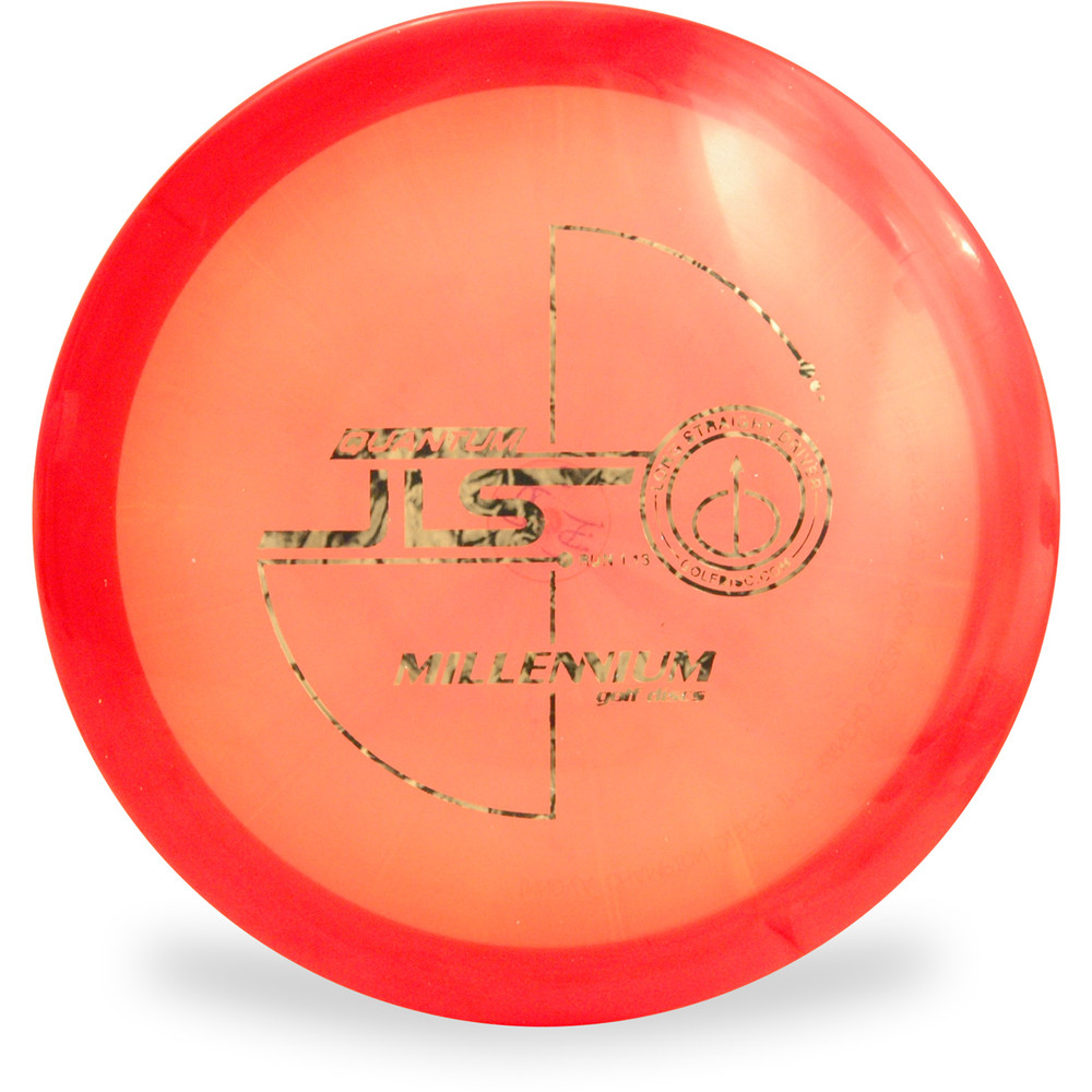 Millenium Q JLS Disc Golf Driver Red Top View
