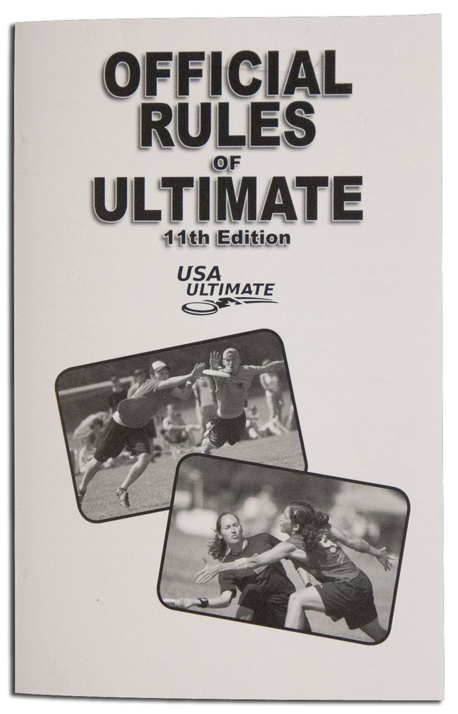 Official Rules of Ultimate - USA Ultimate rulebook for Ultimate Frisbee