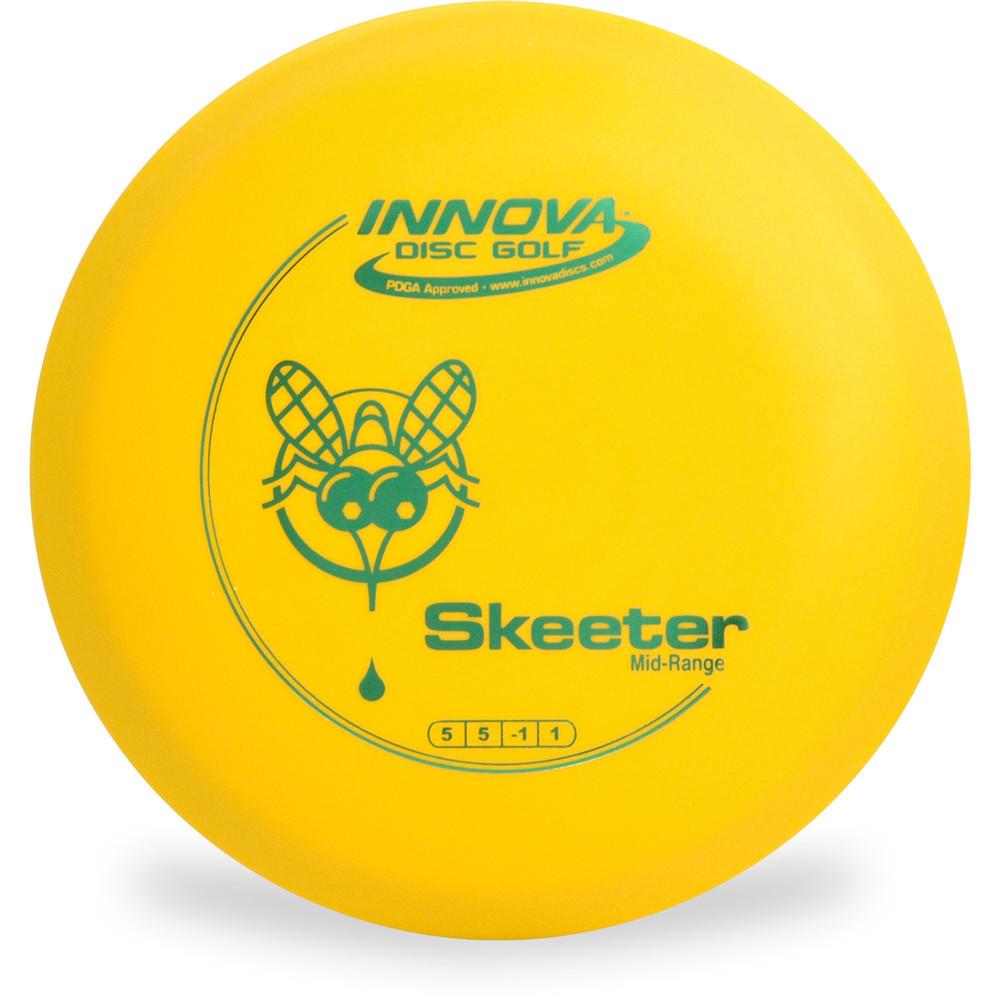 Innova DX SKEETER Yellow Top View