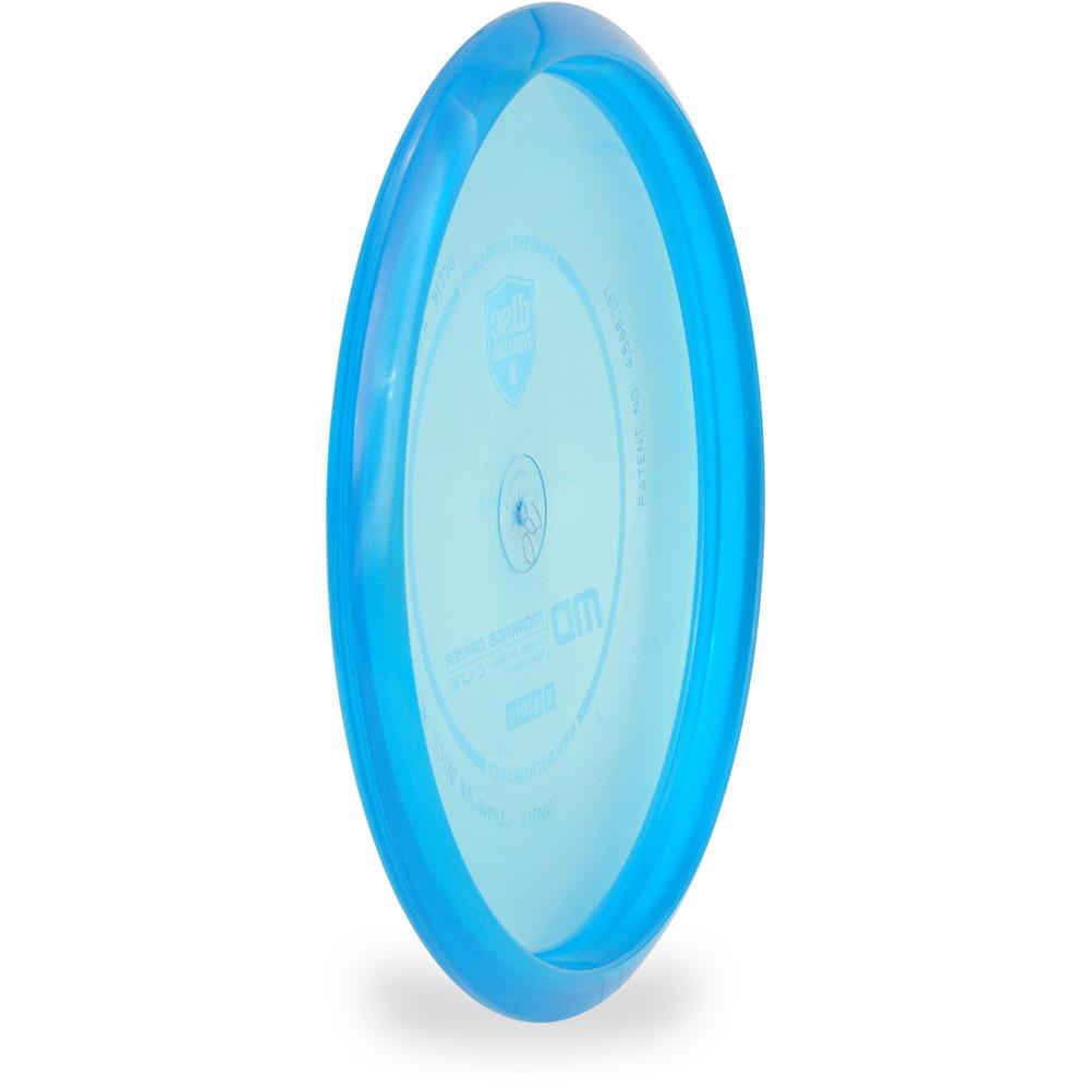 Discmania C-LINE MD Mid-Range Golf Disc Blue Angled Back View