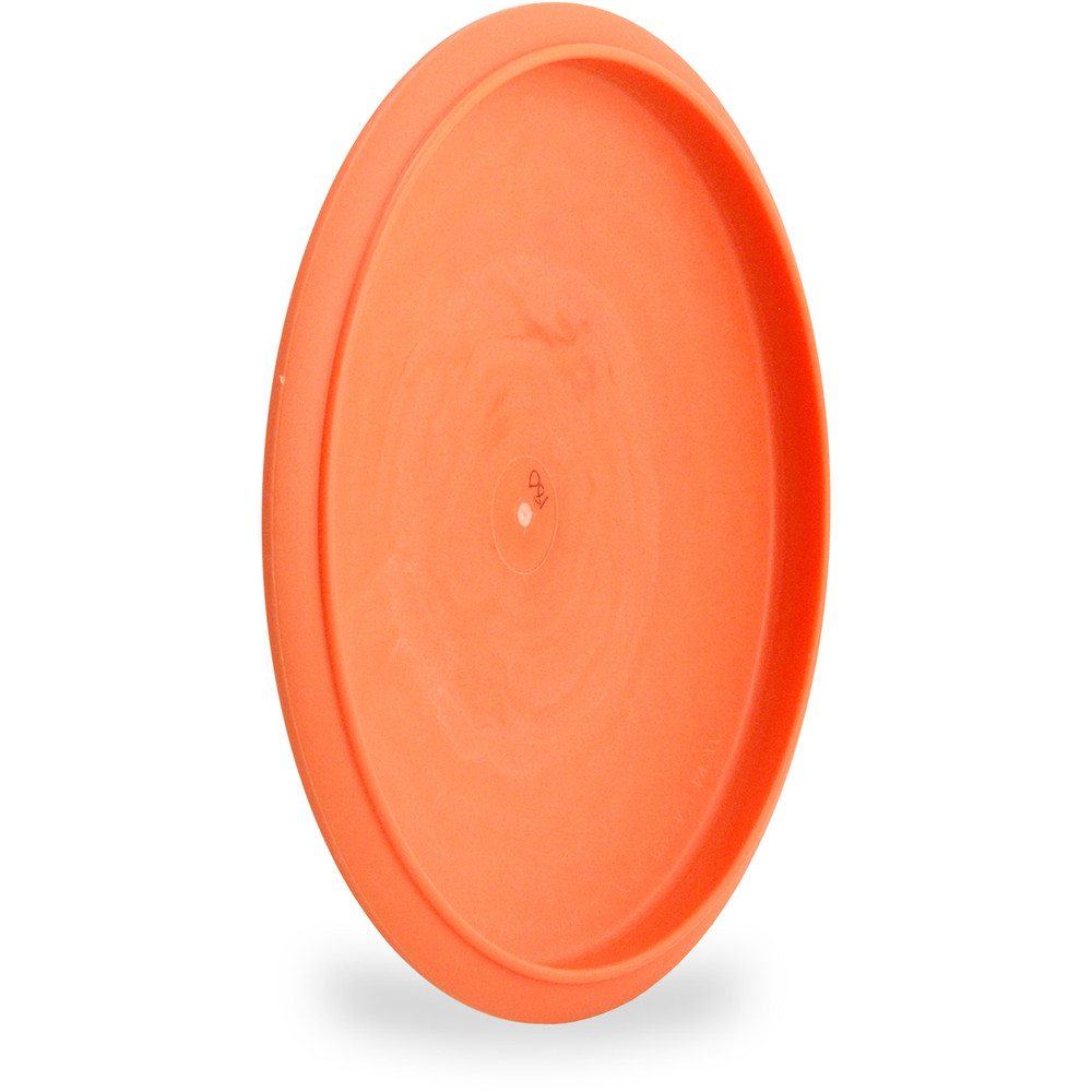 Innova DX VROC Disc Golf Mid-Range (VROC1) Orange Angled Bottom View